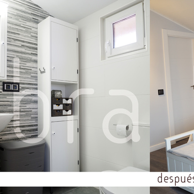 Reforma de vivienda unifamiliar en Burgos. Reforma de Jardín, cerramiento  y urbanización exterior