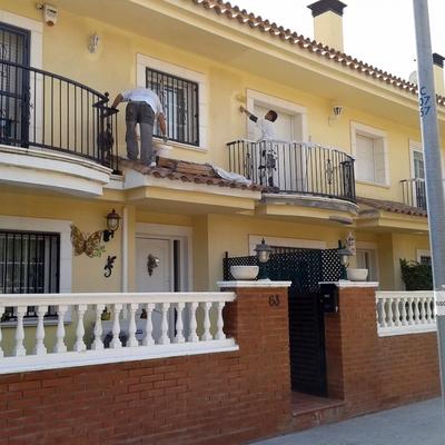 Rehabilitación Conjunto De 20 Casas Pareadas En La Costa
