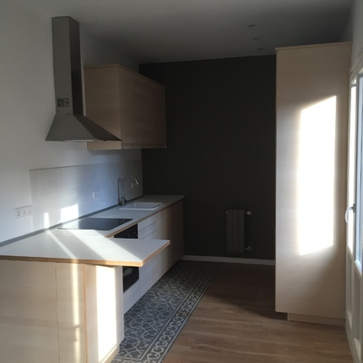 Reforma integral de vivienda en edificio protegido en Chamberí