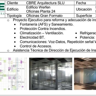 Reforma integral de oficinas en Barcelona (2013)
