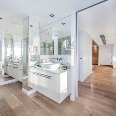 Una vivienda renovada en Zurbano