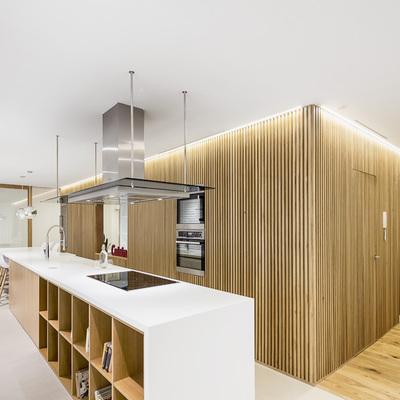 Una vivienda espectacular que no necesita puertas