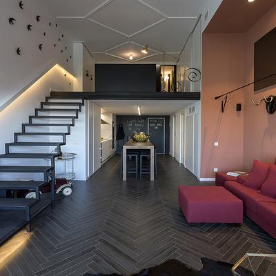 Reforma loft convertido en duplex