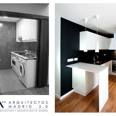 Reforma low-cost de vivienda por Arquitectos Madrid 2.0