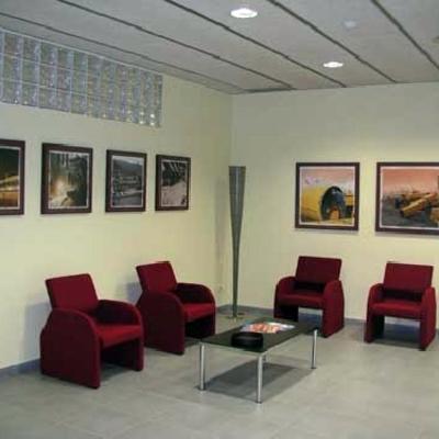 Reforma oficina Barcelona: ladrillos de pavés