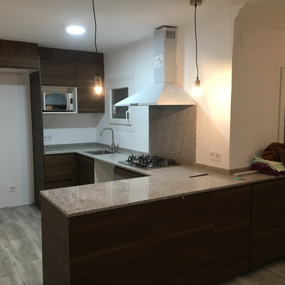 Reforma interior de piso utilizado para alquiler