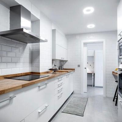 El antes y después de un piso de estilo escandinavo