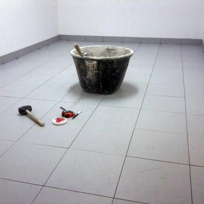 Reforma de suelo del trastero