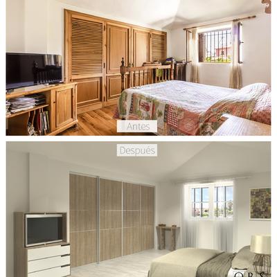 Reforma Villa Marbella antes y después