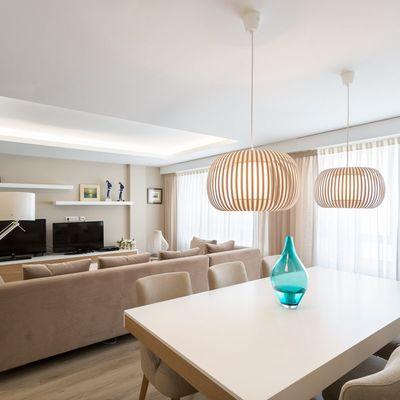 Una vivienda de estilo nórdico, luminosa y muy acogedora