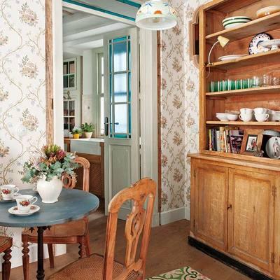 Una casa con sabor ecléctico que se merece un 10 (¡y está en Madrid!)
