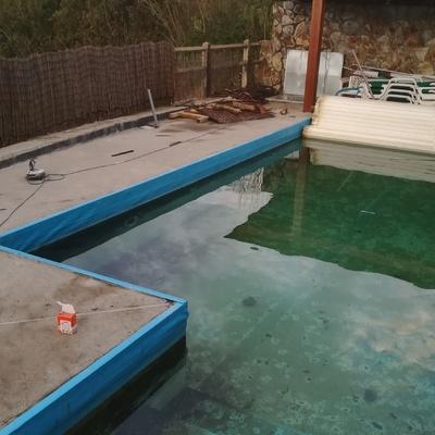 reforma de la playa de piscina