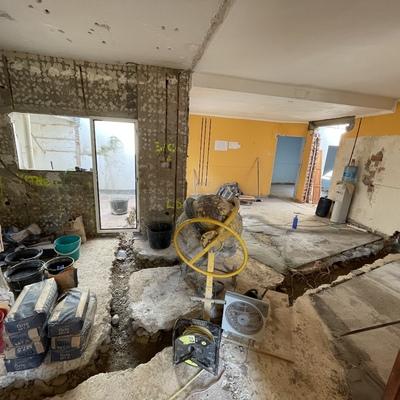 Reforma casa planta baja