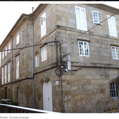 Edificio zona vieja Pontevedra