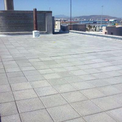 Rehabilitación de cubiertas y sellado exterior de ventanas en la capìtanía marítima de Algeciras