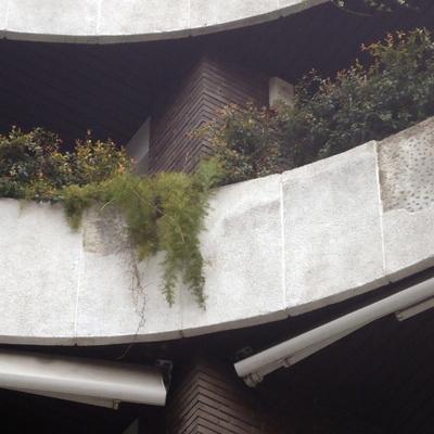Rehabilitación fachada e impermeabilización jardineras