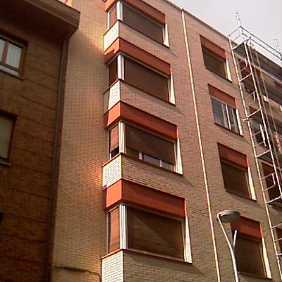 Rehabilitación de fachada, Arana 5, Vitoria-Gasteiz