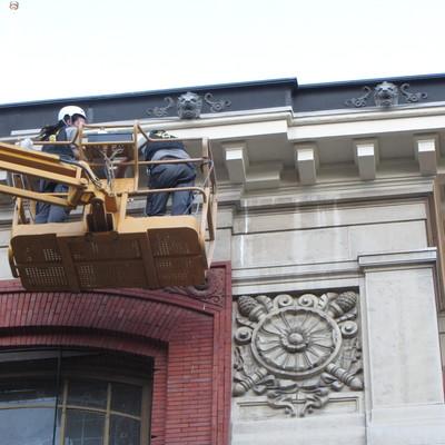Rehabilitación de fachadas de la Real Academia de la Lengua