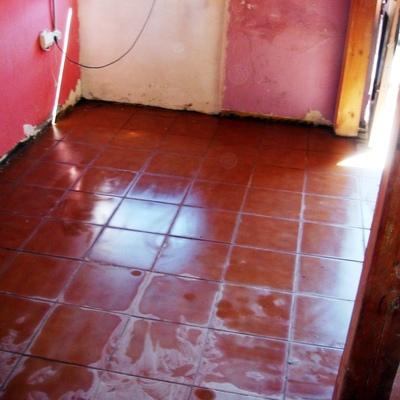 Rehabilitación de suelos en casa de pueblo 6