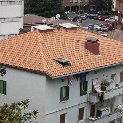Rehabilitación de tejado en Trintxerpe, Pasajes