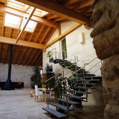 Rehabilitacion de un molino en Segovia habilitandolo para uso de vivienda