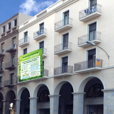 Rehabilitación Energética De Un Edificio De Viviendas En Gran Via Jaume I De Gerona (En Construcción)