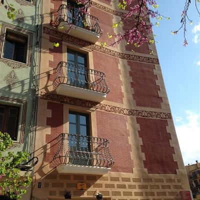 Rehabilitación Energética De Un Edificio En La Calle Hortes 2 De Gerona
