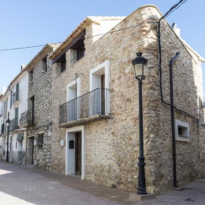 Rehabilitación de fachada en vivienda de principios del s.XX