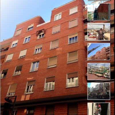 Rehabilitación integral en el Distrito Chamberí de  Madrid