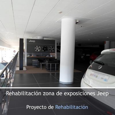 Rehabilitación zona de exposiciones