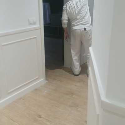 Interiores de piso, puertas