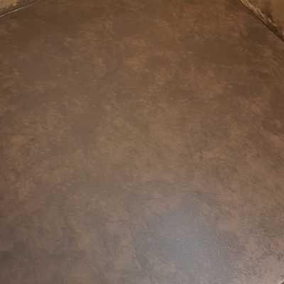 Imitaciones de veteados sobre escaleras de hierro