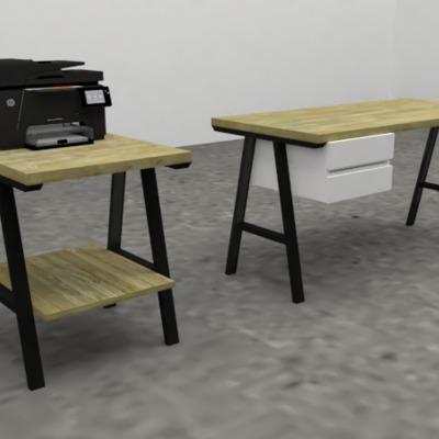 Diseño de Mobiliario para oficina