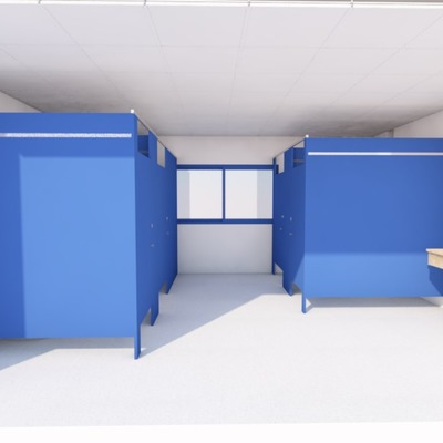 Proyecto de reforma de vestuarios con adaptación a normativa en residencia de estudiantes