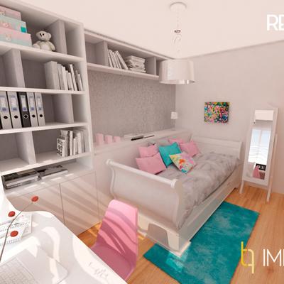 Interiorismo dormitorio juvenil en Valencia