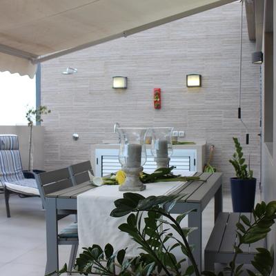 Renovación y apertura de una terraza