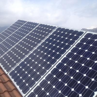 Reparación de instalación solar fotovoltaica en Valdemanco.
