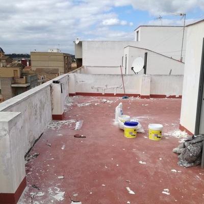 Reparación de paredes de terraza