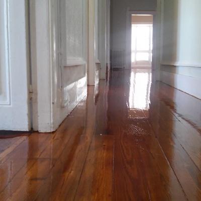 Restauracion de suelo madera
