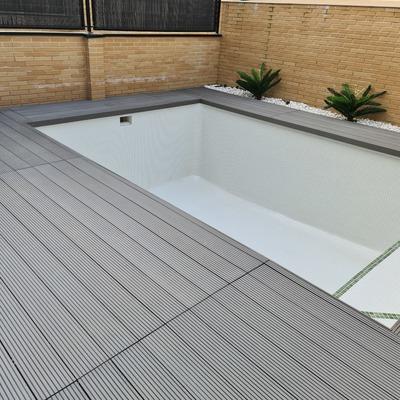 Rehabilitacion piscina de obra Pinto