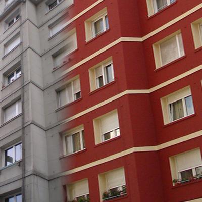 Rehabilitación de fachadas, Santander