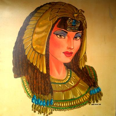 Pintura de cuadros con temática de Cleopatra