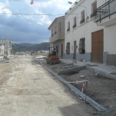 Reurbanización De Calle En Almanzora