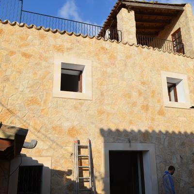 Revestimiento de fachada con piedra natural