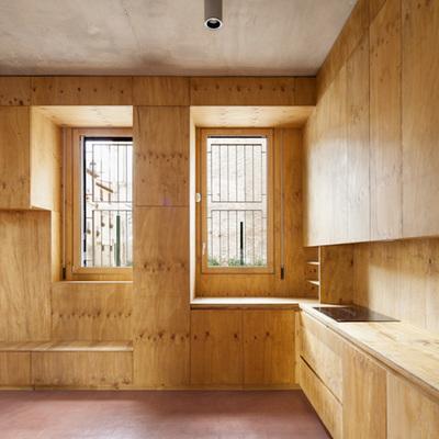 Presupuesto tablero madera en a coru a online habitissimo for Placas de madera para revestimiento interior