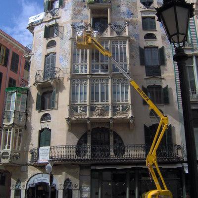 Restauración de fachada de Ca'n Rey
