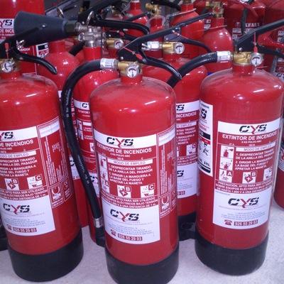 Plan de mantenimiento de extintores