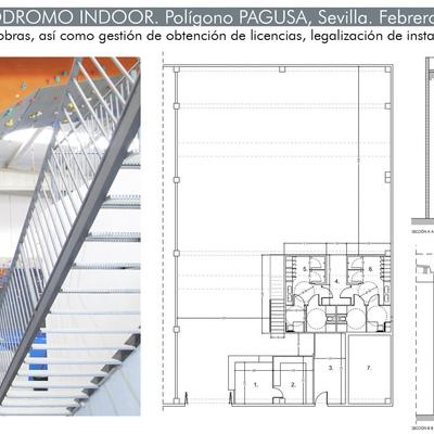 Proyecto de adecuación para actividad de Rocódromo Indoor
