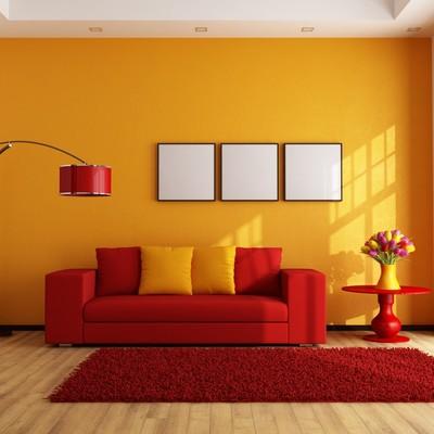 Rojo y naranja