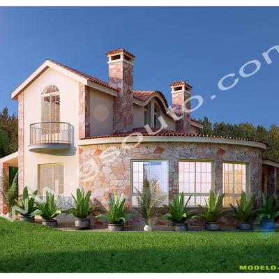 Vista de 2 viviendas
